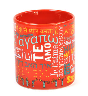 I Love You in 40 Languages Mug Thumbnail 3