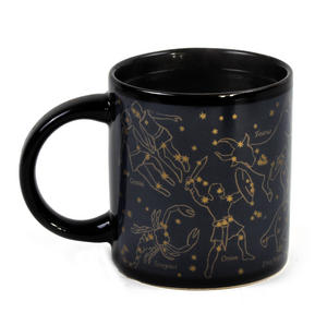 Golden Constellations Heat Change Mug