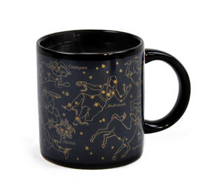Golden Constellations Heat Change Mug Thumbnail 3