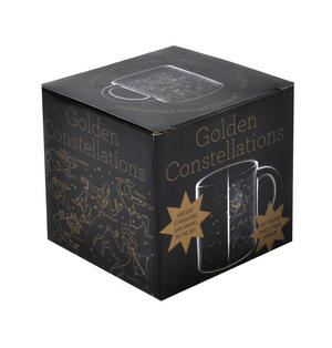 Golden Constellations Heat Change Mug Thumbnail 5