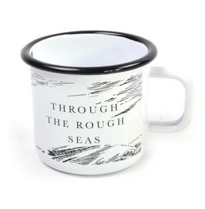 Moomin Solitude - Through the Rough Seas - Moomin Muurla Enamel Mug - 37 cl Thumbnail 2