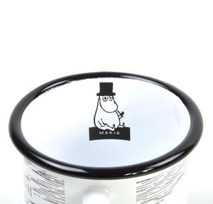 Moomin Solitude - Through the Rough Seas - Moomin Muurla Enamel Mug - 37 cl Thumbnail 4