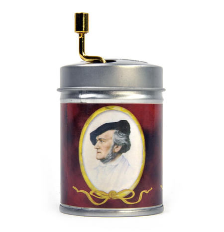 Hand Music Box - Richard Wagner - Wedding March / Hochzeitsmarsch - Handcrank Music Box in Tin