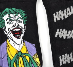 Joker 'Ha Ha Ha' Batman - 2 Pack Socks Thumbnail 2