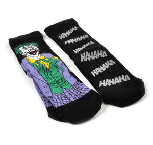 Joker 'Ha Ha Ha' Batman - 2 Pack Socks Thumbnail 3