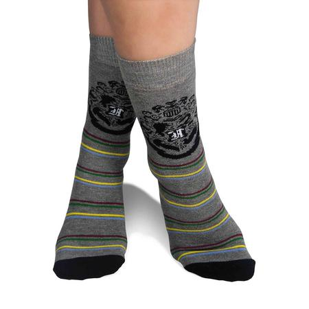Harry Potter Hogwarts Badge - 2 Pack Socks