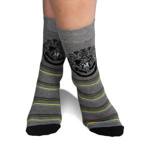 Harry Potter Hogwarts Badge - 2 Pack Socks