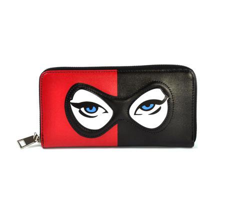 Harley Quinn Suicide Squad Masked Menace Wallet