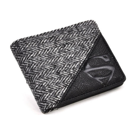 Superman Herringbone  Wallet