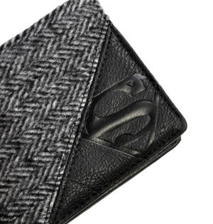 Superman Herringbone  Wallet Thumbnail 4