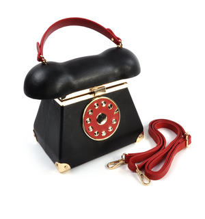 Telephone Beauty - Deluxe Wow!!! Bag - A Cross Body / Handbag Creation by Red Fox Fashion Thumbnail 6