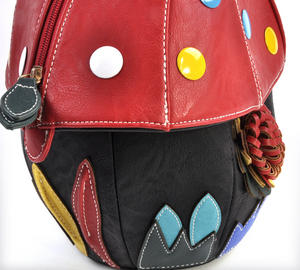 Red Capped Magic Mushroom - Deluxe Wow!!! Bag - A Creation by Red Fox Fashion Thumbnail 7