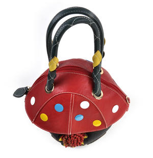 Red Capped Magic Mushroom - Deluxe Wow!!! Bag - A Creation by Red Fox Fashion Thumbnail 8