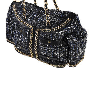 Classic Bouclé Tweed Couture Jacket - Deluxe Coco Wow!!! Bag - A Cross Body / Handbag Creation by Red Fox Fashion Thumbnail 5