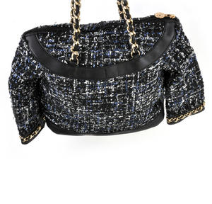 Classic Bouclé Tweed Couture Jacket - Deluxe Coco Wow!!! Bag - A Cross Body / Handbag Creation by Red Fox Fashion Thumbnail 6