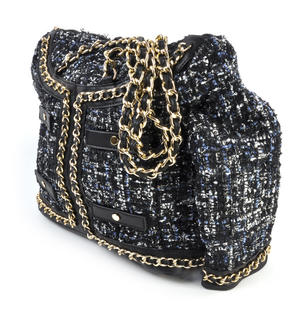 Classic Bouclé Tweed Couture Jacket - Deluxe Coco Wow!!! Bag - A Cross Body / Handbag Creation by Red Fox Fashion Thumbnail 7
