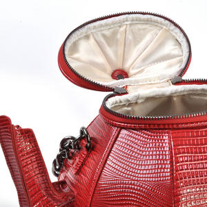 Red Teapot - Deluxe Wow!!! Bag - A Cross Body / Handbag Creation by Red Fox Fashion Thumbnail 5
