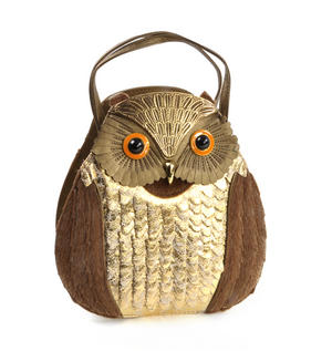 Gold Owl - Deluxe Wow!!! Bag - A Creation by Red Fox Fashion