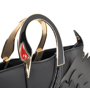 Black Swan Deluxe Wow!!! Bag - A Cross Body / Handbag Creation by Red Fox Fashion Thumbnail 3