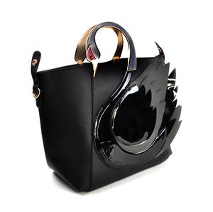 Black Swan Deluxe Wow!!! Bag - A Cross Body / Handbag Creation by Red Fox Fashion Thumbnail 6