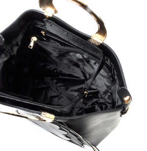 Black Swan Deluxe Wow!!! Bag - A Cross Body / Handbag Creation by Red Fox Fashion Thumbnail 8