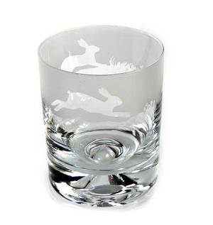 Hare - 30cl Animo Glass Whiskey Tumbler by The Milford Collection Thumbnail 1