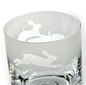 Hare - 30cl Animo Glass Whiskey Tumbler by The Milford Collection Thumbnail 2