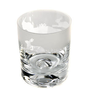Hare - 30cl Animo Glass Whiskey Tumbler by The Milford Collection Thumbnail 3
