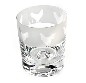 Cockerel - 30cl Animo Glass Whiskey Tumbler by The Milford Collection Thumbnail 3
