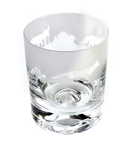 Fox - 30cl Animo Glass Whiskey Tumbler by The Milford Collection