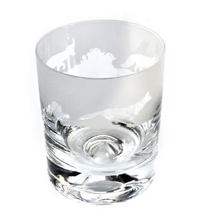 Fox - 30cl Animo Glass Whiskey Tumbler by The Milford Collection Thumbnail 1