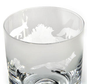 Fox - 30cl Animo Glass Whiskey Tumbler by The Milford Collection Thumbnail 2