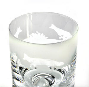 Fox - 30cl Animo Glass Whiskey Tumbler by The Milford Collection Thumbnail 3