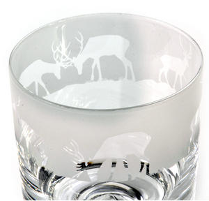 Stag - 30cl Animo Glass Whiskey Tumbler by The Milford Collection Thumbnail 2