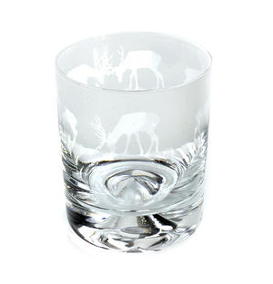 Stag - 30cl Animo Glass Whiskey Tumbler by The Milford Collection Thumbnail 4