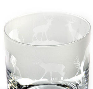 Stag - 30cl Animo Glass Whiskey Tumbler by The Milford Collection Thumbnail 5