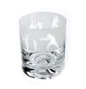 Rugby - 30cl Animo Glass Whiskey Tumbler by The Milford Collection Thumbnail 5