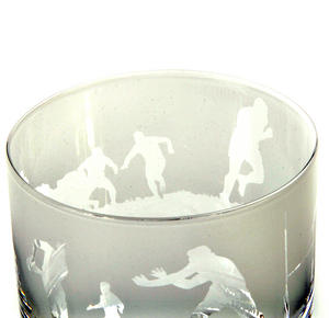 Rugby - 30cl Animo Glass Whiskey Tumbler by The Milford Collection Thumbnail 6