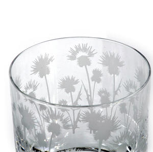 Thistle - 30cl Animo Glass Whiskey Tumbler by The Milford Collection Thumbnail 2
