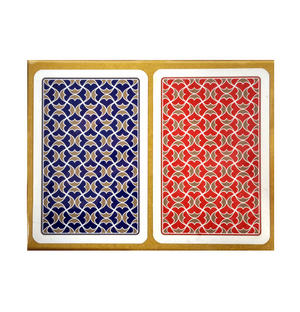 Helios Playing Cards -  2 Deck Set for Bridge or Patience