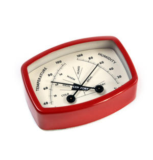 Magnetic Comfort Meter with Thermometer & Hygrometer to Attain Optimum Comfort Thumbnail 2