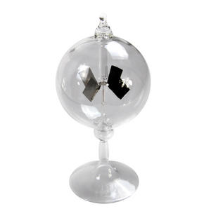 Clear Glass Solar Radiometer - Measures Radiant Flux of Electromagnetic Radiation