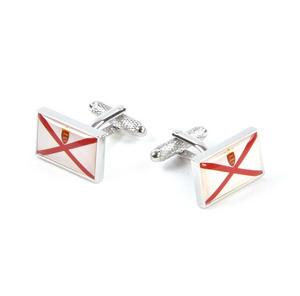 Cufflinks - Jersey Flag