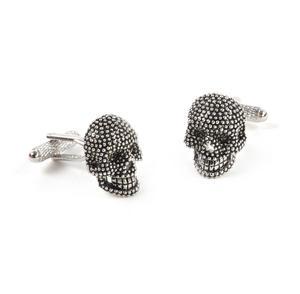 Cufflinks - Diamante Skulls Thumbnail 2