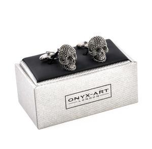 Cufflinks - Diamante Skulls Thumbnail 4