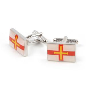 Cufflinks - Guernsey Flag Thumbnail 2