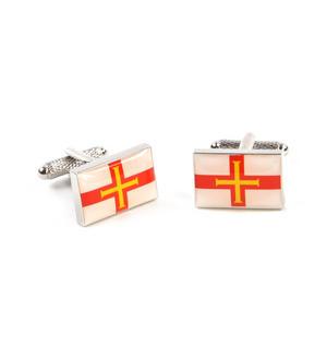 Cufflinks - Guernsey Flag Thumbnail 4