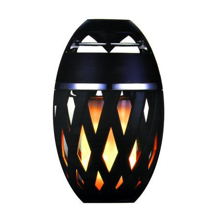 LED Flame Effect Bluetooth USB Speaker