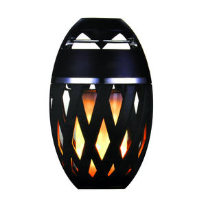 LED Flame Effect Bluetooth USB Speaker