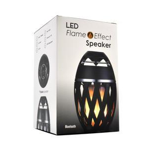 LED Flame Effect Bluetooth USB Speaker Thumbnail 4